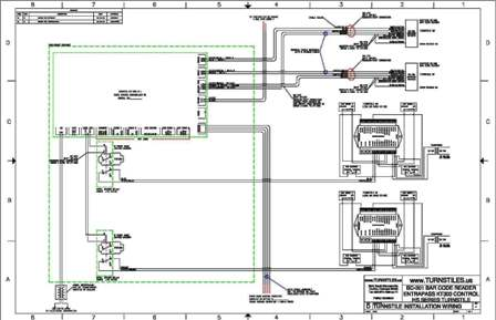 entrapass card access schematics